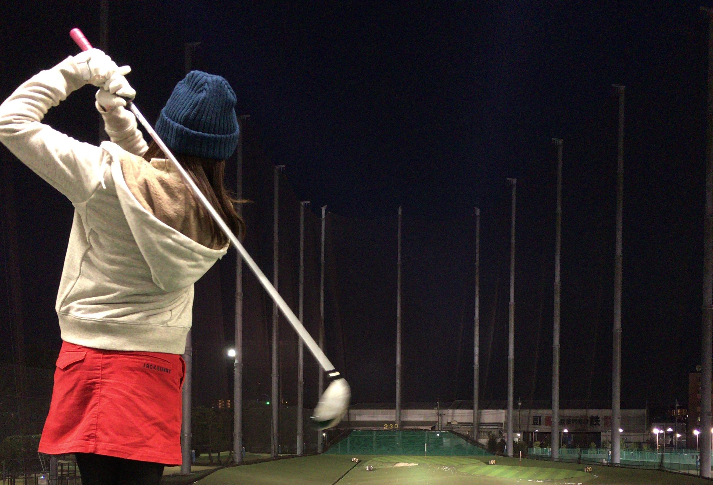 ママゴルファーへの第一歩!産後初めての打ちっ放しへ 〜東宝調布ゴルフ練習場〜