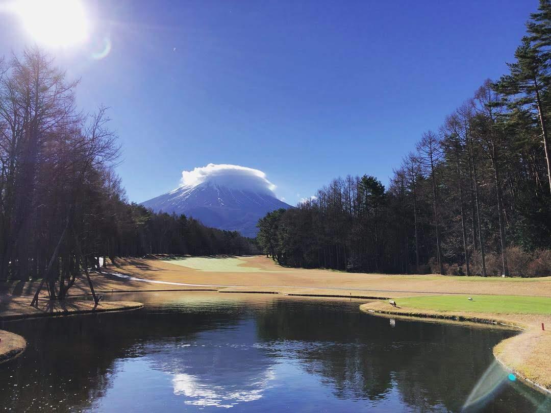 憧れの名門コース「富士桜カントリー倶楽部」でコンペラウンド。本当に素晴らしいコースでした!