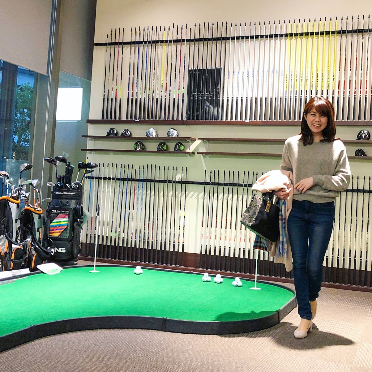 久々にゴルフテックでレッスン~ワーママが出産・育児でのブランクを経てゴルフ復帰するまで