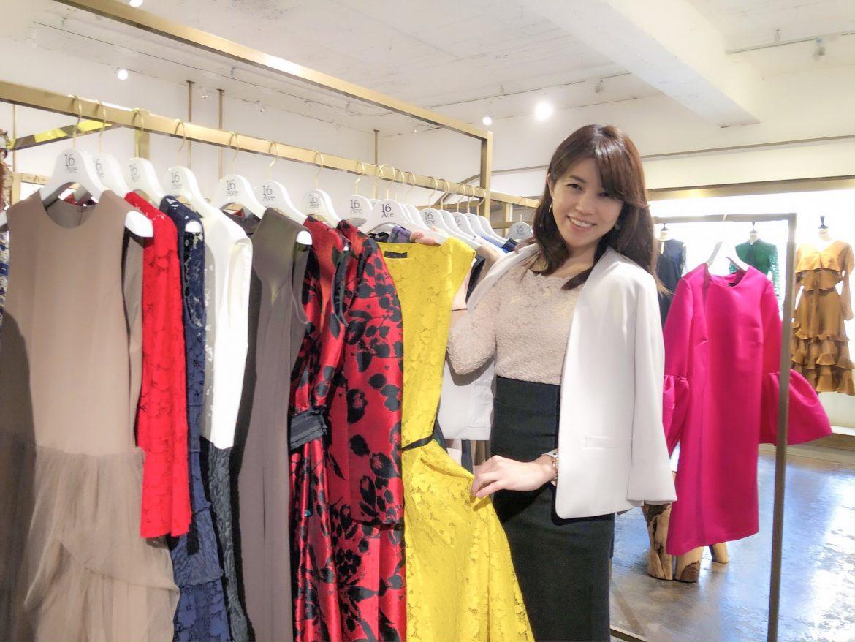 モデルの美香さん登場!16avenue ・ドレスブランド GIRL フラッグショップオープニングパーティで司会をつとめました。